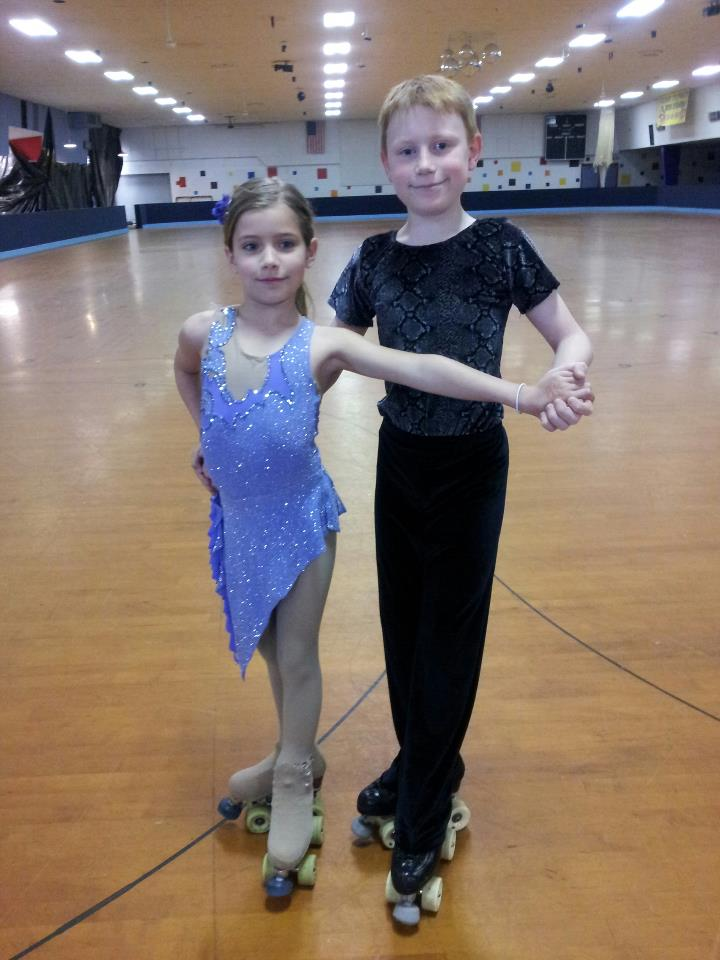 Grace and Ben - Our newest dance team!